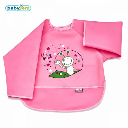 Kilepõll varrukatega BabyJem roosa