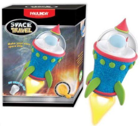 Modelleerimisvaht Kosmoserakett, sinine / Paulinda