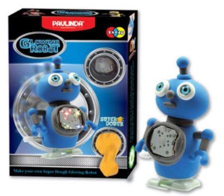 Super Dough Liikuv helendav robot, sinine / Paulinda
