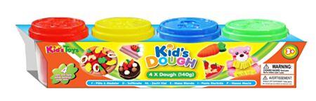 4 x 140g Kid´s Dough