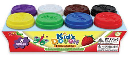 8 KidsDough voolimsvahad 8x50 g.