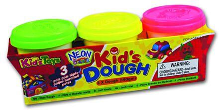 3 x 140g Neon Dough