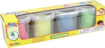 4 x 100g neoon voolimisvahad Kid´s Dough