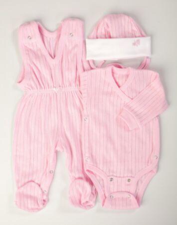 Body, sipupüksid ja müts roosa 50