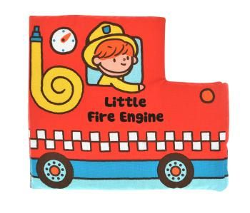 """Pehme raamat """"Väike tuletõrjeauto"""" / K´sKids Read & Play"""