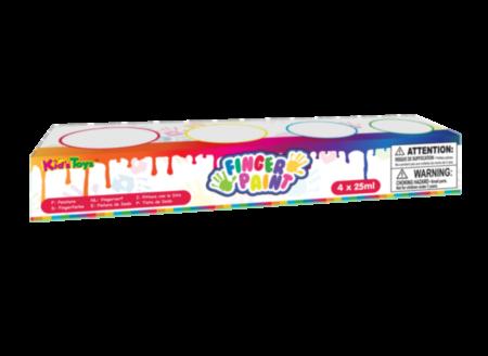 KidsDough näpuvärvid (4 x 25ml )