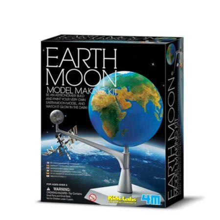 Kidz Labs / Maa-Kuu mudeli valmistamise komplekt / 4M