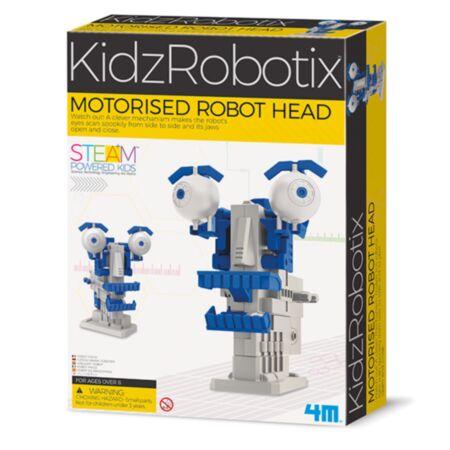 KidzRobotix / Motoriseeeritud robotpea / 4M