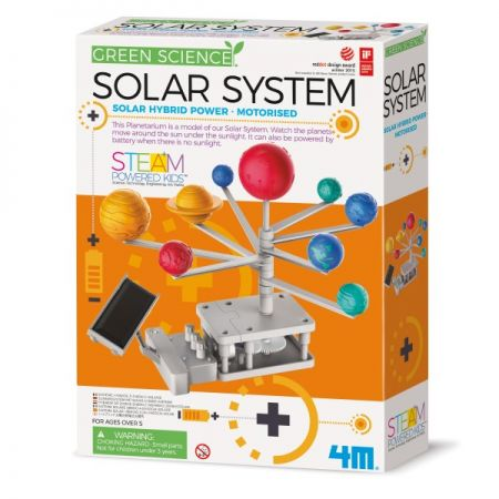 Roheline teadus / Motoriseeritud Päikesesüsteemi planetaarium / 4M