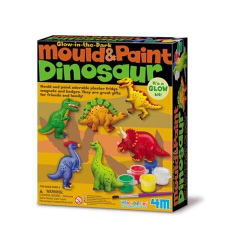 Tee ise magnetid -  Dinosaurused / 4M