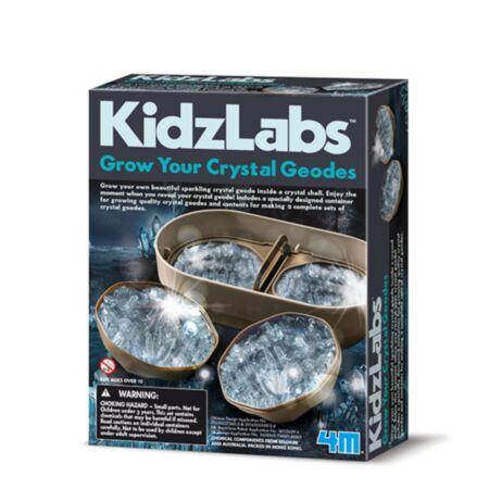 Geode kristallikasvatus / 4M