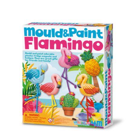 Tee ise magnetid - Flamingo / 4M