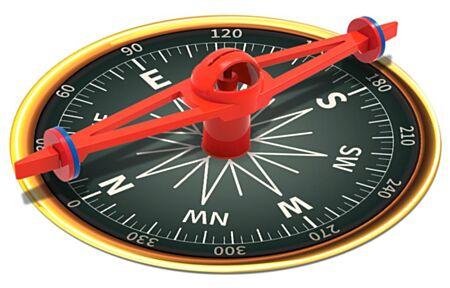 Kidzlabs / Hiiglaslik magnetkompass / 4M