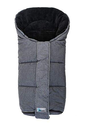 Soojakott vankrisse Alpin, hall-must 95x45x5cm / Altabebe