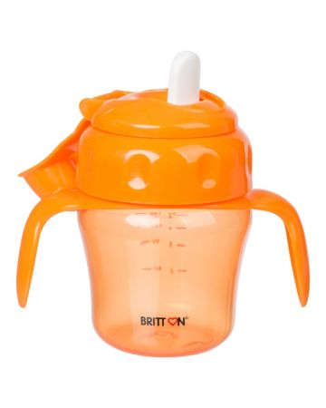 Britton Tilgavaba pehme nokaga pudel 150ml / Oranž