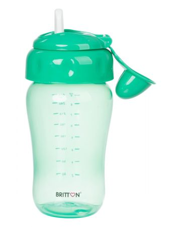 Britton Tilgavaba pehme nokaga pudel 270ml / Roheline