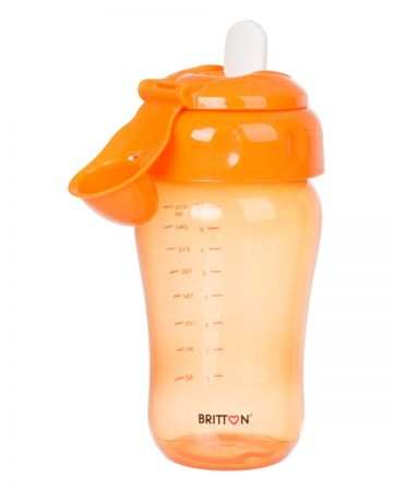Britton Tilgavaba pehme nokaga pudel 270ml / Oranž