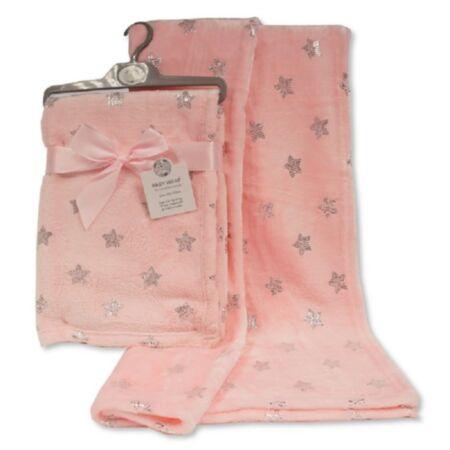 Beebitekk Twinkle roosa 75x100 cm / SnuggleBaby