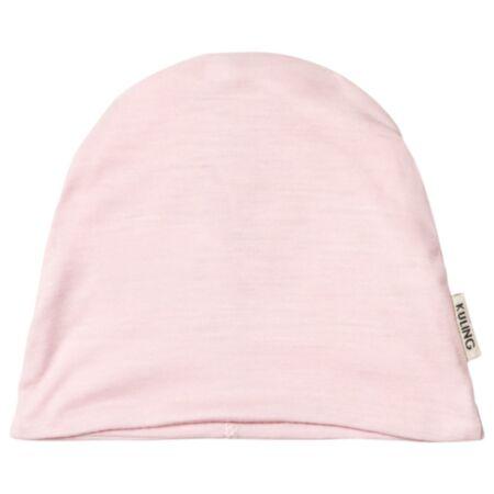Meriinovillast müts roosa 52/54 cm