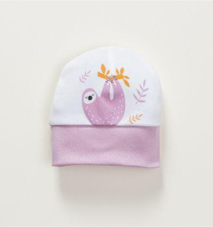 Beebimüts valge/sirel Laiskloom 34