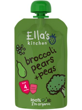 Ella´s Kitchen brokkoli-pirni-hernepüree 120g