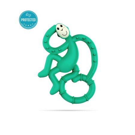 Matchstick Mini Monkey Teether Green