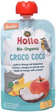 Holle Õuna-mangopüree kookosega 100g (Croco Coco)