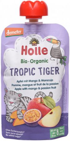 Holle Õuna-mango ja passioniviljapüree 100g (Tiger)