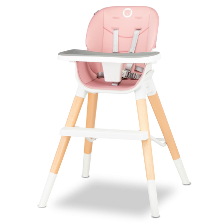 Söögitool Lionelo Mona 4in1, Bubblegum