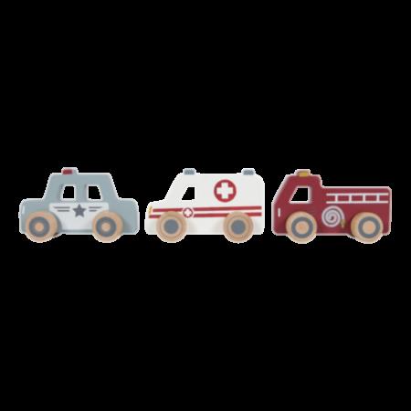 Kiirabi, Tuletõrje, Politsei autokomplekt