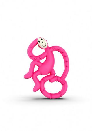 Matchstick Mini Monkey Teether Pink