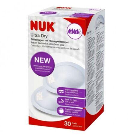 NUK rinnapadi Ultra Dry, kleebisega, 30tk