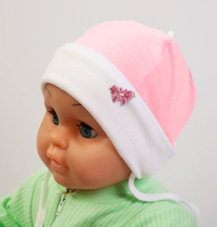Tagasipööratava osaga müts roosa 62