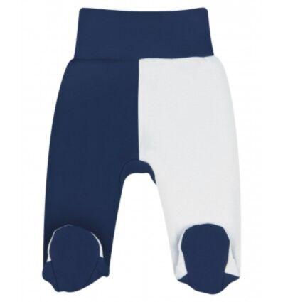 Poolsipupüksid Sinine/hall 68cm