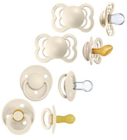 BIBS lutid Ivory Try-It Collection 4tk