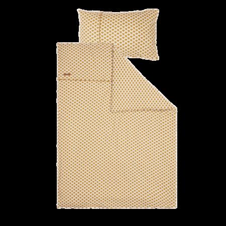 Voodipesu komplekt ´Sunrise Ochre´ 100 x 140 cm + 40 x 60 cm