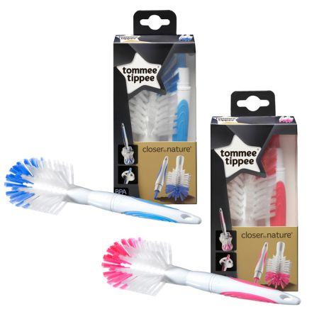 Tommee Tippee luttide- ja lutipudelite puhastushari sinine/roosa