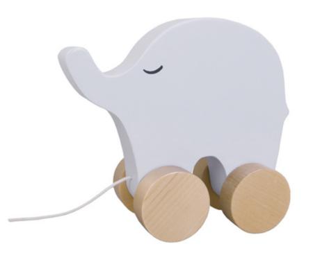 Nöörist tõmmatav elevant/ Jabadabado