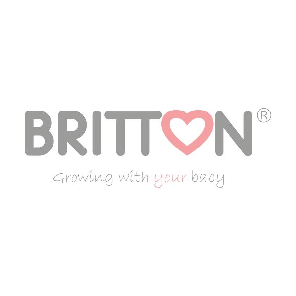 Britton prill-laud kummiäärega, PRUUN/Valge